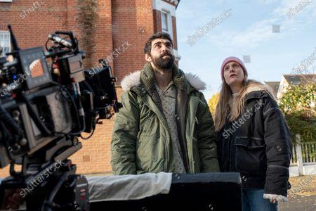 Stock Image of Alec Secareanu as Tomas and Romola Garai Director