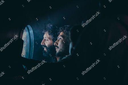 Stock Picture of Marcello Fonte as Domenico Tempesta and Simone Coppo as Vincenzo Tempesta