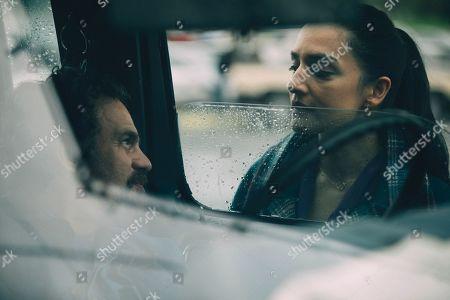 Stock Photo of Mark Ruffalo as Dominick Birdsey/Thomas Birdsey and Archie Panjabi as Dr. Patel