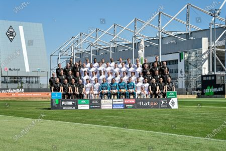 Editorial picture of Borussia Moenchengladbach - Team presentation, Germany - 07 Aug 2020