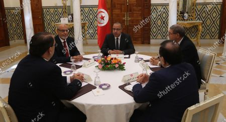 Editorial picture of Consultations as part of the formation of the next government, Tunis, Tunisia - 07 Aug 2020