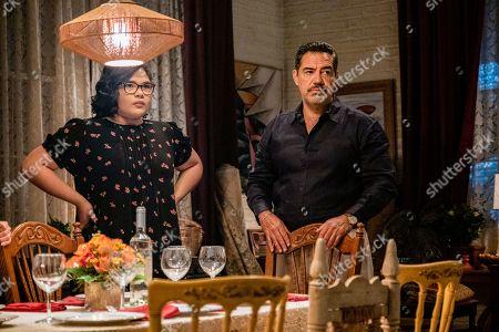Belissa Escobedo as Natalie Garcia and Carlos Gomez as Rafael Garcia