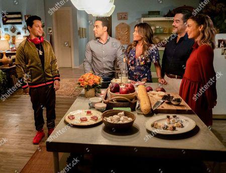 David Del Rio as Mateo Garcia, Victor Rasuk as Daniel Garcia, Lisa Vidal as Mari Garcia, Carlos Gomez as Rafael Garcia and Nathalie Kelley as Noa Hamilton