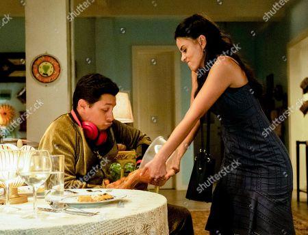 David Del Rio as Mateo Garcia and Michelle Veintimilla as Vanessa Sanchez