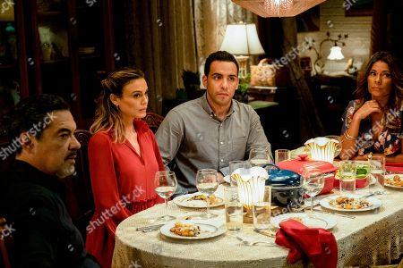 Nathalie Kelley as Noa Hamilton, Victor Rasuk as Daniel Garcia and Lisa Vidal as Mari Garcia
