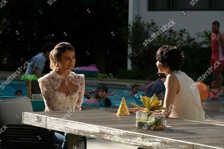 Nathalie Kelley as Noa Hamilton and Beth Malone as Melanie Caan