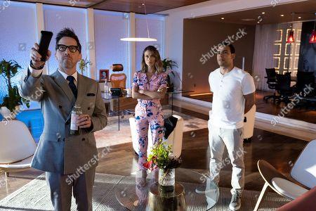 Dan Bucatinsky as Lewis, Nathalie Kelley as Noa Hamilton and Victor Rasuk as Daniel Garcia