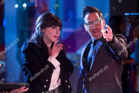 Stock Image of Georgina Reilly as Piper and Dan Bucatinsky as Lewis