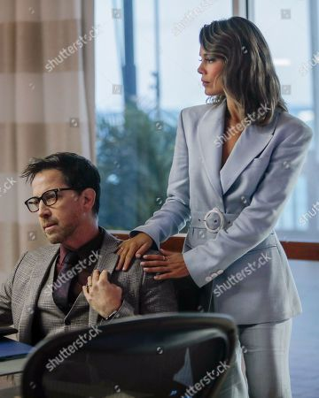 Dan Bucatinsky as Lewis and Nathalie Kelley as Noa Hamilton