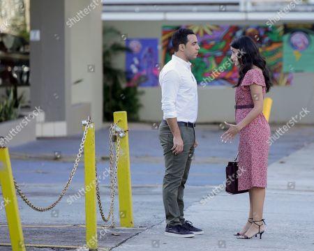 Victor Rasuk as Daniel Garcia and Michelle Veintimilla as Vanessa Sanchez