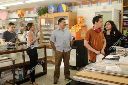 Victor Rasuk as Daniel Garcia, Lisa Vidal as Mari Garcia, Carlos Gomez as Rafael Garcia, David Del Rio as Mateo Garcia and Belissa Escobedo as Natalie Garcia