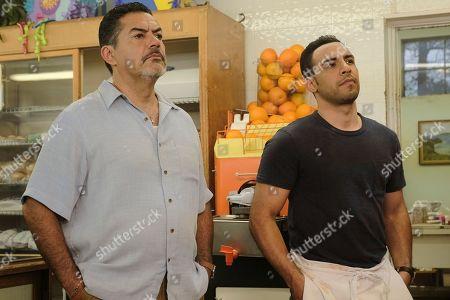 Carlos Gomez as Rafael Garcia and Victor Rasuk as Daniel Garcia