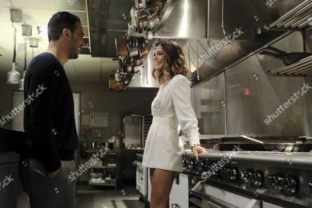 Victor Rasuk as Daniel Garcia and Nathalie Kelley as Noa Hamilton