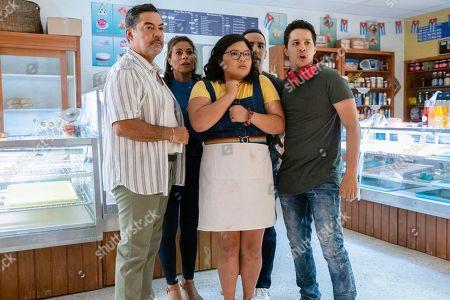 Carlos Gomez as Rafael Garcia, Lisa Vidal as Mari Garcia, Belissa Escobedo as Natalie Garcia, Victor Rasuk as Daniel Garcia and David Del Rio as Mateo Garcia