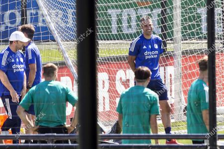Robin van Persie at the Feyenoord's training complex in Rotterdam, the Netherlands, 07 August 2020. Van Persie, former player of the club, will join the Feyenoord technical staff for the 2020-2021 season and will train the strikers.