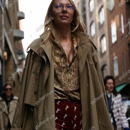 Editorial photo of UK: On the street of London, United Kingdom - 18 Feb 2018