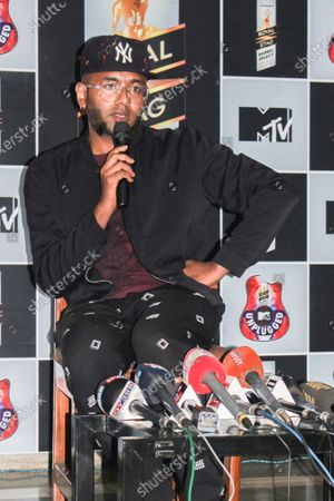 Editorial image of Indian singer Benny Dayal addressed a press, Guwahati, Assam, India - 25 Mar 2018