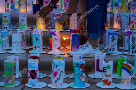 Editorial image of Japan prepares to mark 75th anniversary of Nagasaki atomic bombing - 08 Aug 2020