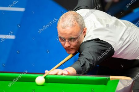 Editorial photo of Exclusive - Betfred World Snooker Championship, Day Nine, Crucible Theatre, Sheffield, UK - 08 Aug 2020