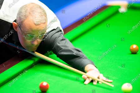 Editorial picture of Exclusive - Betfred World Snooker Championship, Day Nine, Crucible Theatre, Sheffield, UK - 08 Aug 2020