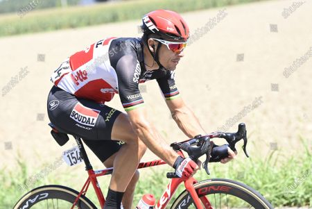 Stock Photo of Belgian Philippe Gilbert of Lotto Soudal the 111th edition of the 'Milano-Sanremo' one day cycling race, 305km from Milan to Sanremo, Italy, Saturday 08 August 2020. The race that is often called 'La Primavera' and normally held in spring, was postponed due to the still ongoing Coronavirus crisis.