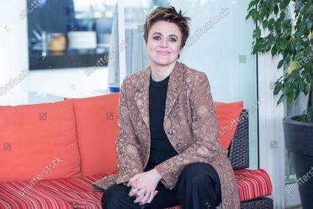 """Italian actress Michela Cescon  Photocall in Rome of the movie """"Nome di Donna"""""""