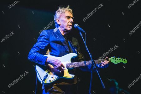 The Welsh musician, composer, singer, songwriter and record producer John Cale performing live on stage at the Officine Grandi Riparazioni (OGR) in Torino, for his single Italian concert.