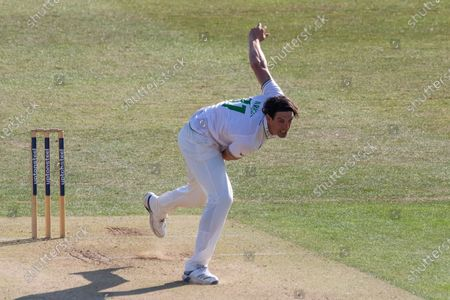 Editorial image of Leicestershire County Cricket Club v Derbyshire County Cricket Club, Bob Willis Trophy - 08 Aug 2020