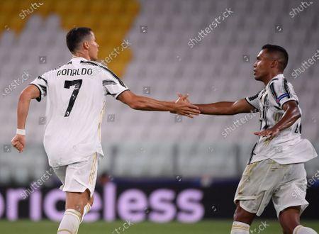 Editorial photo of Italy Turin Football Uefa Champions Round 16 Juventus Lyon - 07 Aug 2020