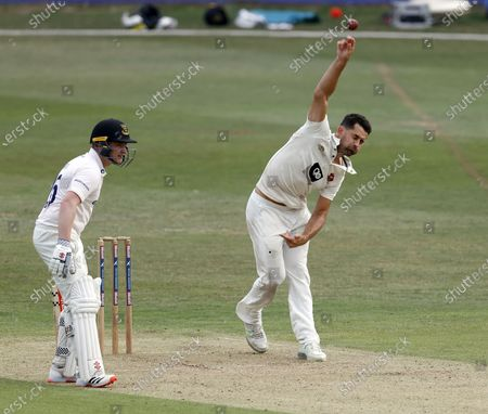 Editorial image of Kent CCC vs Sussex CCC, Bob Willis Trophy, Cricket, The Spitfire Ground, St Lawrence, Canterbury, Kent, United Kingdom - 08 Aug 2020