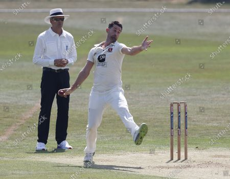 Editorial picture of Kent CCC vs Sussex CCC, Bob Willis Trophy, Cricket, The Spitfire Ground, St Lawrence, Canterbury, Kent, United Kingdom - 08 Aug 2020