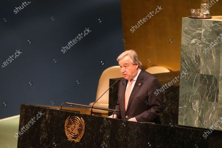 Secretary-General Antonio Guterres. International Women's Day 2018 was observed at the United Nations with a series of talks starting with UN Secretary-General Antonio Guterres and moderated by WABC newscast Sade Baderinwa. Highlights included Australian foreign minister Julie Bishop & activist Monica Ramirez, President of Alizana Nacional de Campesinas.