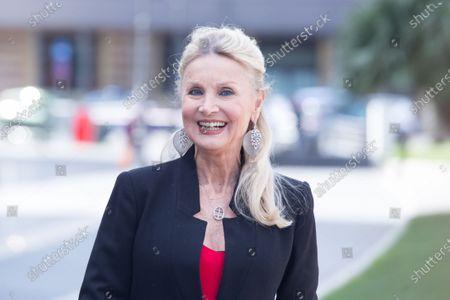 "Italian actress Barbara Bouchet  Photocall of the Italian movie ""Metti la Nonna in Freezer"", directed by Giancarlo Fontana and Giuseppe G. Stasi"