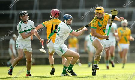 Ahane v Kilmallock. Kilmallock's Dan Joy and Tom Morrissey of Ahane
