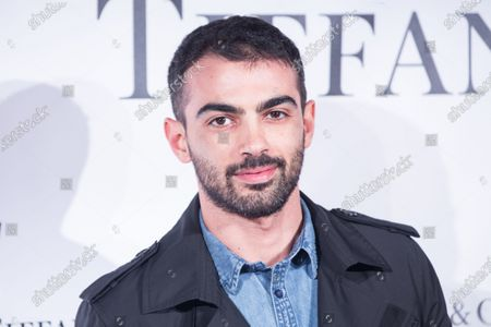 """Stock Image of Italian actor Primo Reggiani  Premiere of the Italian movie """"Lovers""""directed by Matteo Vicino at The Space Cinema Moderno in Rome"""