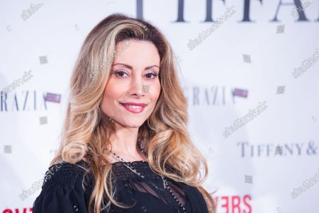 "Stock Picture of Italian actress Antonella Salvucci  Premiere of the Italian movie ""Lovers""directed by Matteo Vicino at The Space Cinema Moderno in Rome"