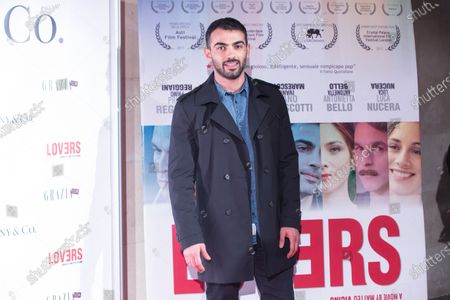 """Italian actor Primo Reggiani  Premiere of the Italian movie """"Lovers""""directed by Matteo Vicino at The Space Cinema Moderno in Rome"""