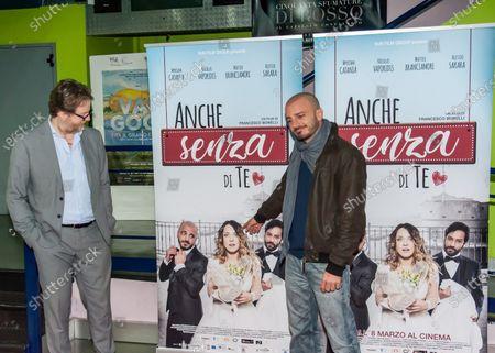 Editorial photo of Nicolas Vaporidis presents the new film, Caserta, Italy/ Campania, Italy - 12 Mar 2018