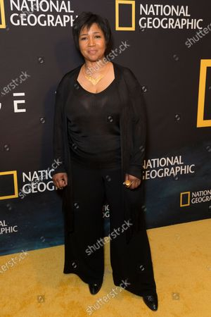 Mae Jemison attends National Geographic world premiere screening of One Strange Rock at Alice Tully Hall
