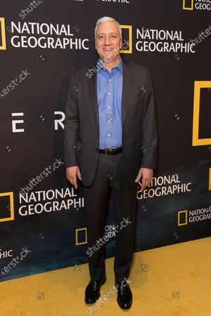Mike Massimino attends National Geographic world premiere screening of One Strange Rock at Alice Tully Hall