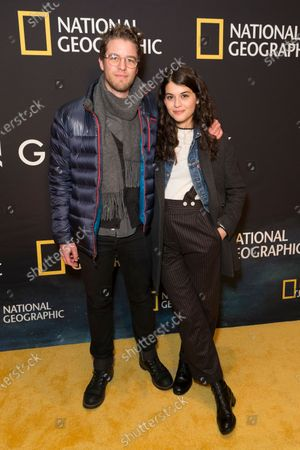 Stock Photo of Henry Joost, Sophia Black Dâ€Elia attend National Geographic world premiere screening of One Strange Rock at Alice Tully Hall