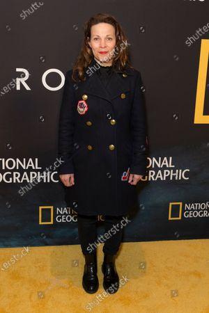Lili Taylor attends National Geographic world premiere screening of One Strange Rock at Alice Tully Hall