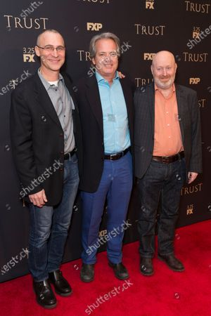 Stock Image of Joel Fields, Graham Yost, Joe Weisberg attend FX Annual All-Star Party at SVA theater