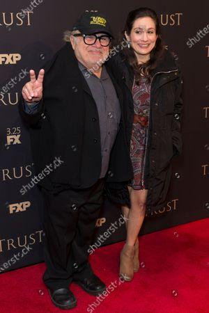 Danny DeVito and Lucy DeVito attend FX Annual All-Star Party at SVA theater