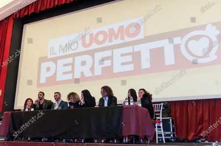 "Editorial image of Press Conference ""My Perfect Man"", Naples, Italy - 13 Mar 2018"