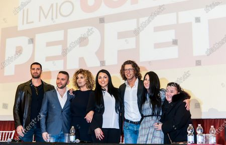 "Editorial picture of Press Conference ""My Perfect Man"", Naples, Italy - 13 Mar 2018"