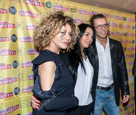 "The press conference of Nancy Coppola's film, Francesco Testi, Eva Grimaldi, Maria del Monte and Antonio Palmese, directed by Nilo Sciarrone ""My Perfect Man"" in theatres."