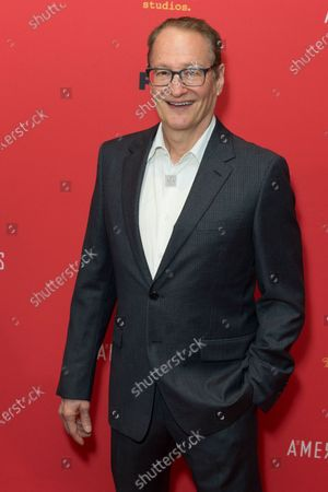 Stephen Schiff attends FX The Americans season 6 premiere at Alice Tully Hall Lincoln Center