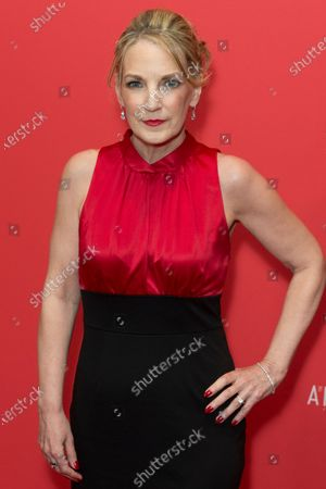 Stock Photo of Amy Tribbey attends FX The Americans season 6 premiere at Alice Tully Hall Lincoln Center