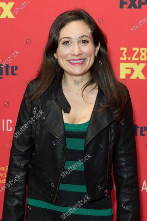 Lucy DeVito attends FX The Americans season 6 premiere at Alice Tully Hall Lincoln Center